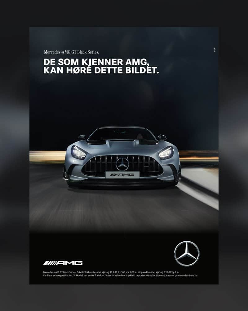 AMG annonse M55